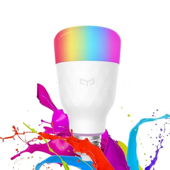 Lampada Xiaomi Yeelight 220v Lâmpada Led Smart Wi-fi Rgbw