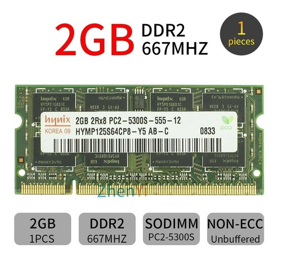 Memória Ddr2 1 X 2gb Original Acer Aspire 4220 4220g