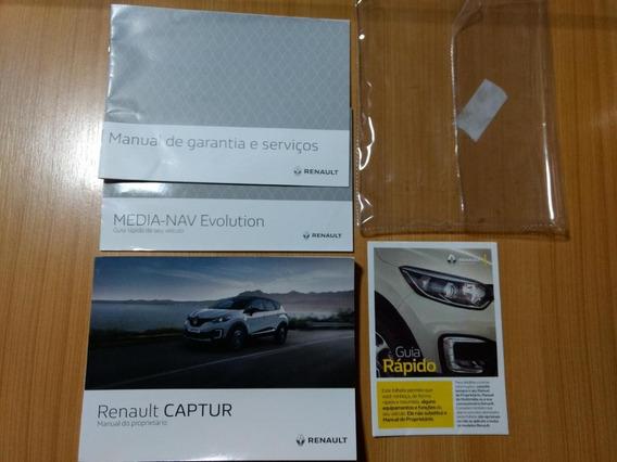 Manual Do Proprietário Renault Captur 2018/2019