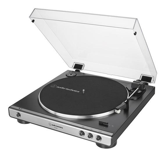 Toca-discos Audio-technica Automático At-lp60x-gm Grafite