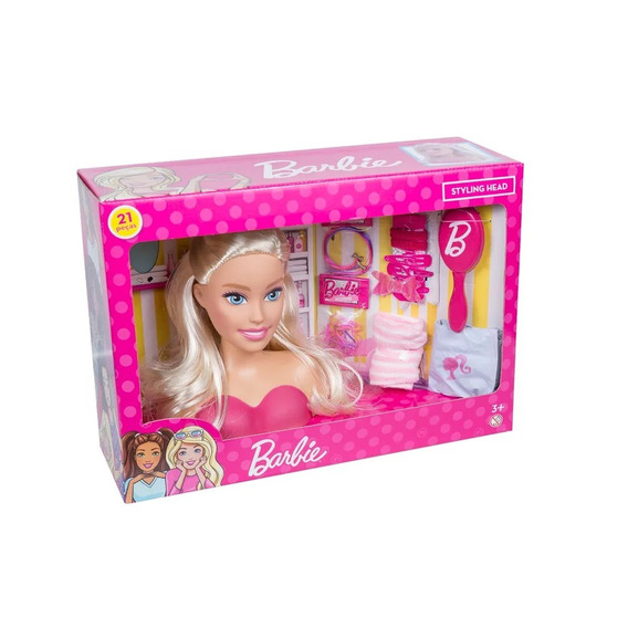Busto Barbie - Styling Head - Pupee 1255