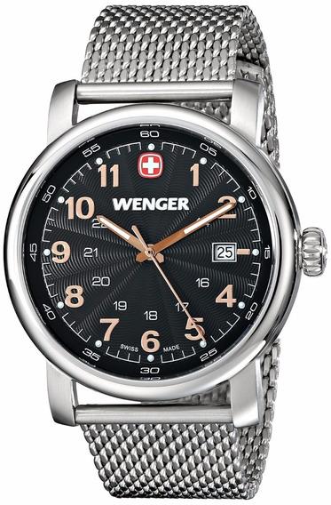 Reloj Wenger Urban Classic Acero Inox Plata Mujer 1041.106
