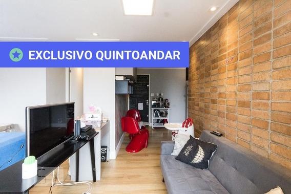 Studio No 16º Andar Mobiliado Com 1 Dormitório E 1 Garagem - Id: 892989105 - 289105