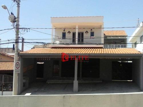 Imagem 1 de 12 de Sobrado Com 3 Dormitórios À Venda, 296 M² Por R$ 900.000,00 - Jardim América - São José Dos Campos/sp - So0270
