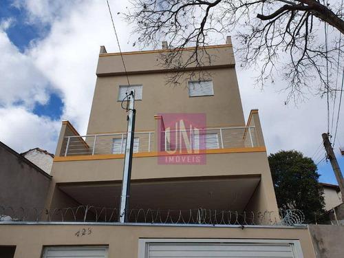 Imagem 1 de 10 de Apartamento Com 2 Dormitórios À Venda, 43 M² Por R$ 240.000,00 - Vila Francisco Matarazzo - Santo André/sp - Ap2122