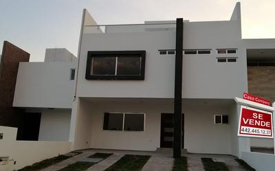 Residencia De Autor En Grand Juriquilla, Roof Garden, 3 Recámaras, Estudio, Lujo