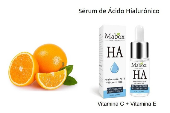 Serum Mabox Acido Hialuronico+vitaminas C E Anti-rugas