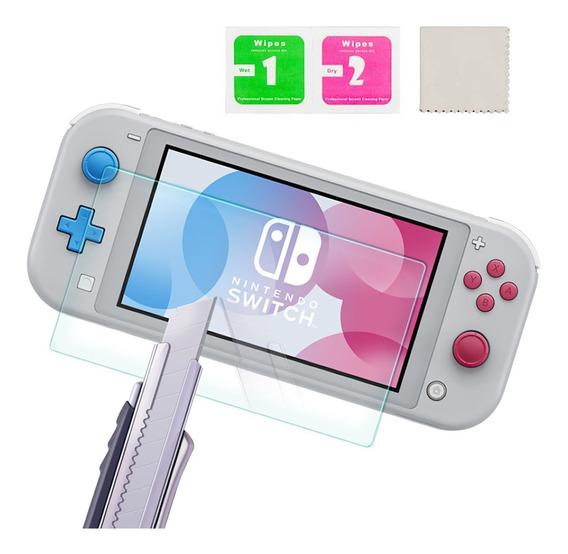 Mini Película De Vidro Temperado Tela Nintendo Switch Lite