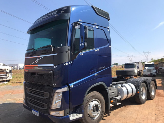Volvo New Fh 540 6x4 Globetrotter - I Shift 2016 Azul