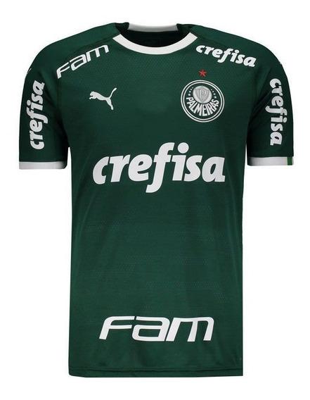Camisa Puma Palmeiras I 2019 Com Patrocínio