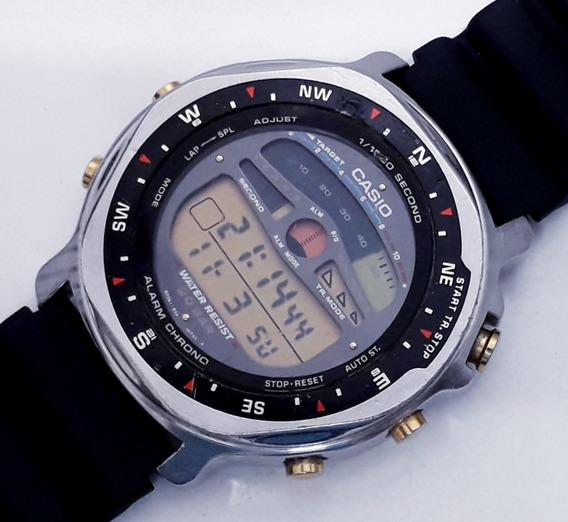 Relógio Casio Chrono 1/1000 Sec Str-2000 Japan Raro Anos 90