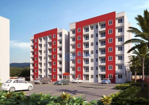 Apartamento Com 2 Dormitórios À Venda, 51 M² Por R$ 155.000 - Mondubim - Fortaleza/ce - Ap0751