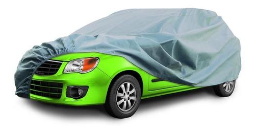 Funda Cubre Auto Plateado Polyester Talle S