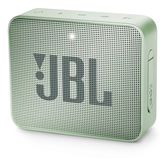 Caixa De Som Jbl Go 2 Verde Original Bluetooth C Nota Fiscal
