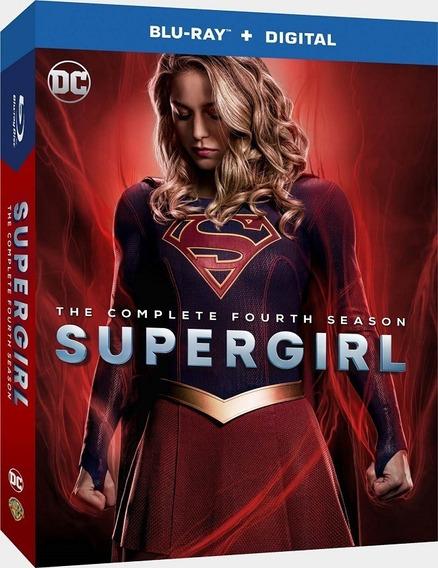 Supergirl Cuarta Temporada 4 Cuatro Blu-ray