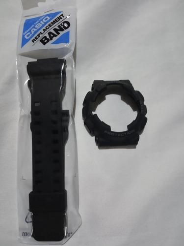 Kit Pulseira  Bezel Casio Ga110-1bdr Original