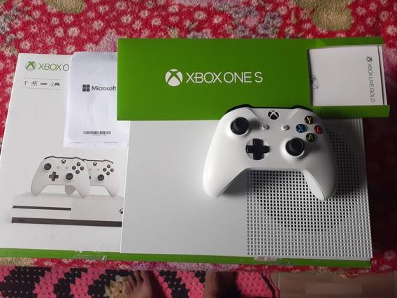Vendo 1 Xbox One 1tb Novo Nem 1 Mês De Uso.4 Ano Garantia..
