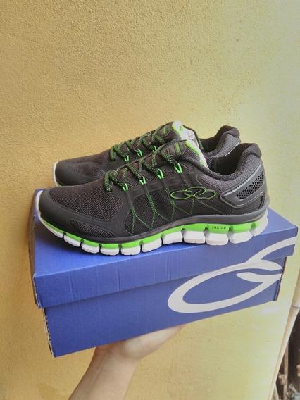 Tênis Olympikus Freedon Preto/green