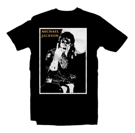 Playeras Michael Jackson 18 Modelos Disponibles