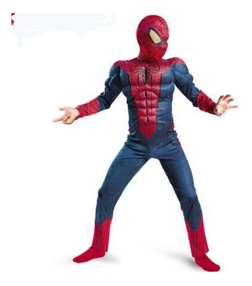 Disfraz Hombre Araña Spider-man Excelente Calidad Avengers