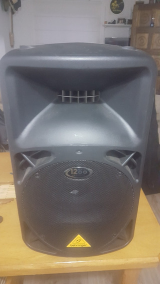Caixa Amplificada Ativa Behringer B812neo Semi Nova 110v