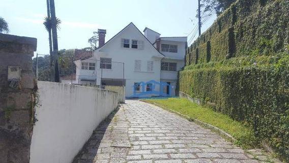 Casa Com 5 Dormitórios Ou Mais Para Alugar - Centro - Petrópolis/rj - Ca0026