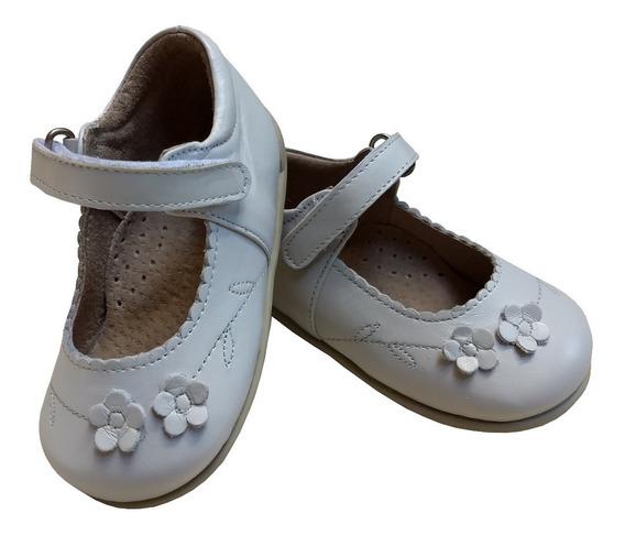 Zapato Guillermina Bebe Nena Niña 100% Cuero Fiesta/bautismo