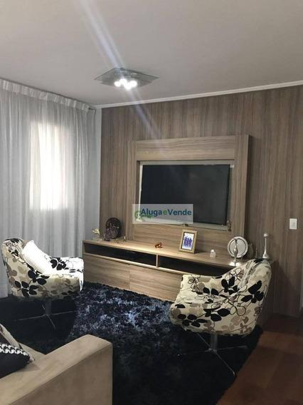 Apartamento Com 3 Dormitórios Sendo 3 Suítes E 3 Vagas De Garagem À Venda No Condomínio Supera, 128 M² Por R$ 850.000 - Vila Leonor - Guarulhos/sp - Ap0212