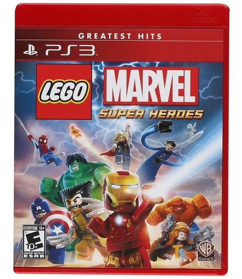 Lego Marvel Super Heroes Ps3 - Midia Digital