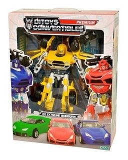 Transformer Robot Xx Extreme 35 Cm 1714 Premium Delmy