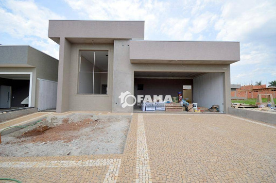 Casa Com 3 Dormitórios À Venda, 190 M² Por R$ 1.100.000,00 - Residencial Villa Bella Siena - Paulínia/sp - Ca2070