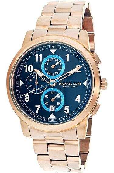 Reloj Hombre Michael Kors Chronograph Mk8550 Rose Gold