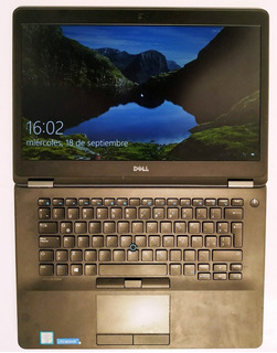 Notebook Dell 7470 Intel Core I7 - 16 Gb Ram - 512 Gb Ssd