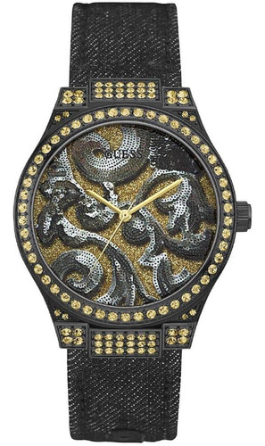 Relógio Feminino Guess 92615lpgspc1 Preto Barato Original