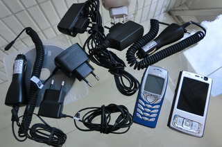 Celular Nokia N95 E Nokia 6610 Com Carregadores