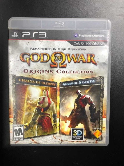 God Of War Origins Collection Ps3 - Mídia Física Seminovo