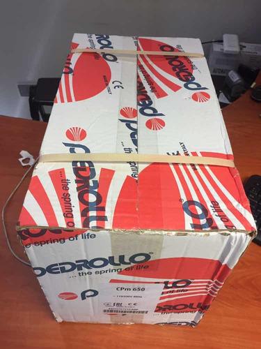 Bomba Centrífuga Pedrollo 1.5 Hp, 115-230 Volts Monof. Italy