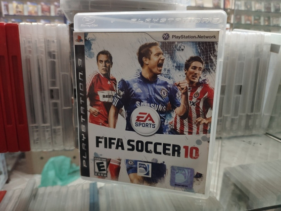 Fifa Soccer 10 Manual Ps3 Mídia Física