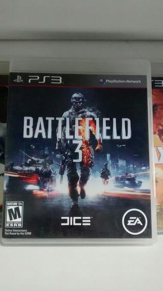 Jogo Para Ps3: Battlefield 3. Frete Grátis!
