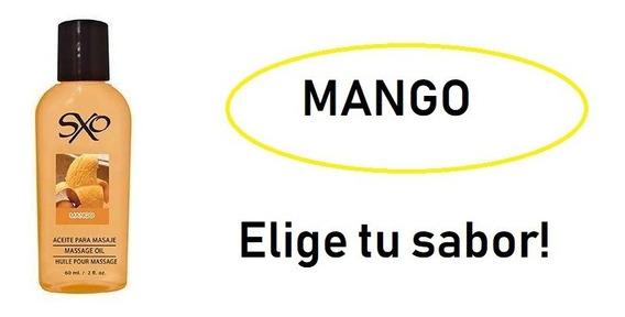 1x Aceite Masaje Erótico Comestible Sxo 60ml Envío Gratis