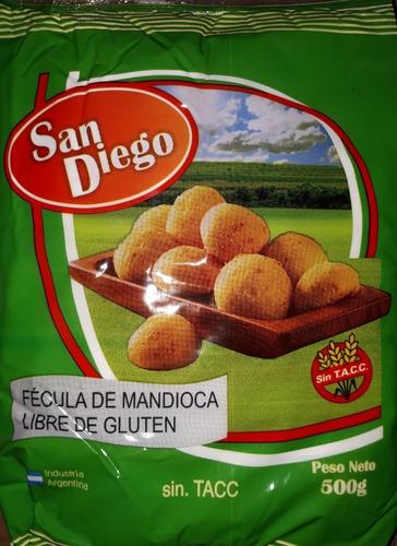 Fecula De Mandioca Pack X 20. Celiacos