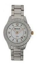 Relógio Seculus Kit Troca Aros Feminino Moda 24773l0sfns1
