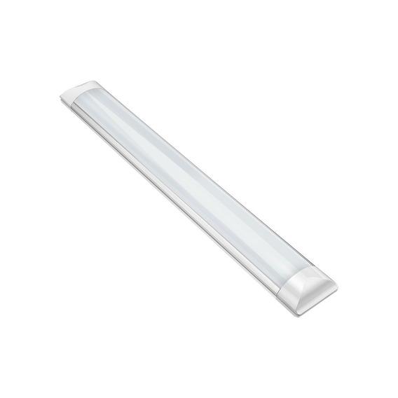 Luminária Slim Sobrepor 60cm 18w 6000k Bivolt Elgin.