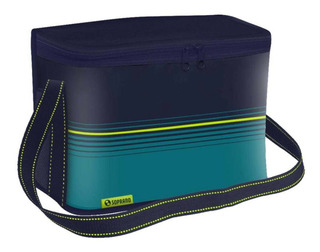 Bolsa Térmica Pop 9,5 Litros Azul Soprano