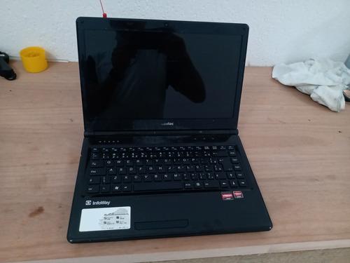 Imagem 1 de 5 de Notebook Itautec A7520 Para Aproveitar Peças