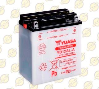 Bateria Yuasa Yb12al-a P/ Motos Xt 600 Z Tenere