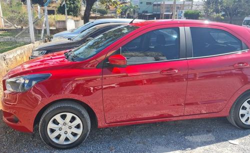 Ford Ka - Flex 4p Vermelho