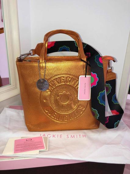 Cartera Jackie Smith Leather Flora Edición Limitada!