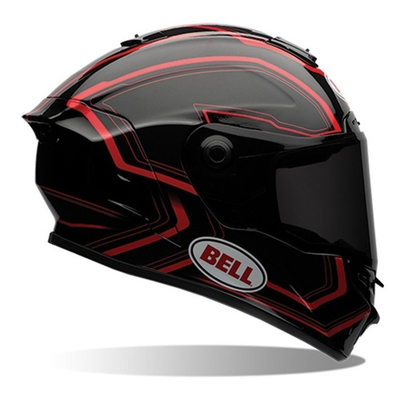 Capacete Bell Star Pace Black Red