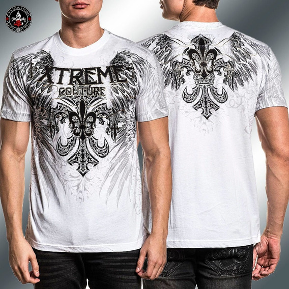 Remera Xtreme Couture Reverence Blanca